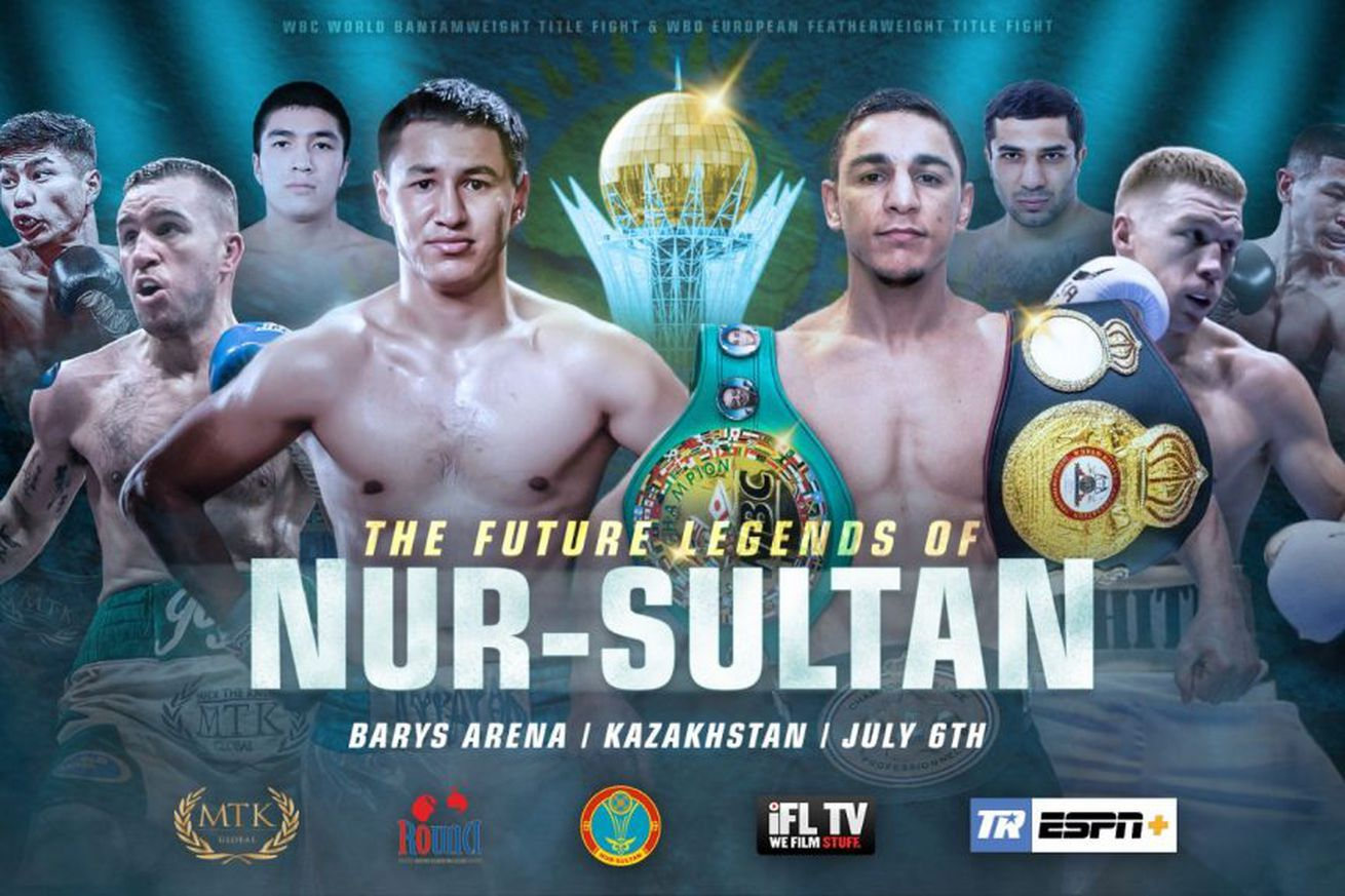 Turarov, Oubaali, Joyce set to fight on July 6 in Kazakhstan