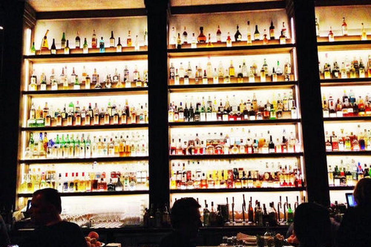 The bar at Scopa Italian Roots, Venice