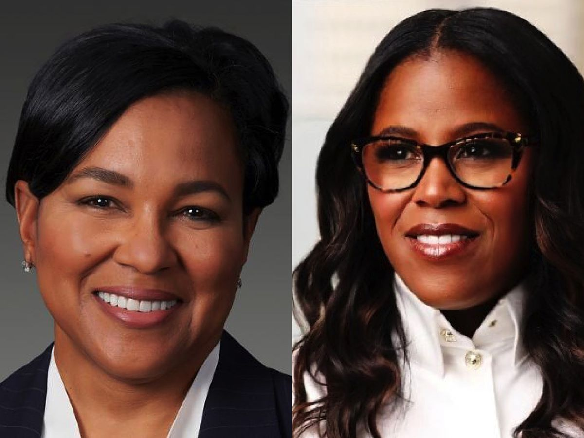 Rosalind Brewer (left), CEO of Walgreens Boots Alliance, and Thasunda Duckett, CEO of the Teachers Insurance and Annuity Association of America. The May appointment of Lisa Osborne Ross to CEO of Edelman U.S. follows the history-making ascension by these two African American women to the top post at Fortune 100 companies.