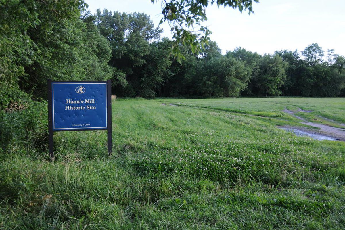 This is the site of Haun's Mill in Caldwell County, Mo., where members of the church were attacked by a mob in 1838.