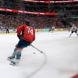Carlson Turns Back Up Ice