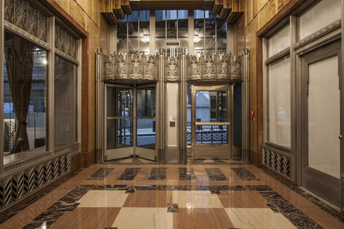 at 70 pine street a long closed art deco landmark prepares for residents curbed ny. Black Bedroom Furniture Sets. Home Design Ideas