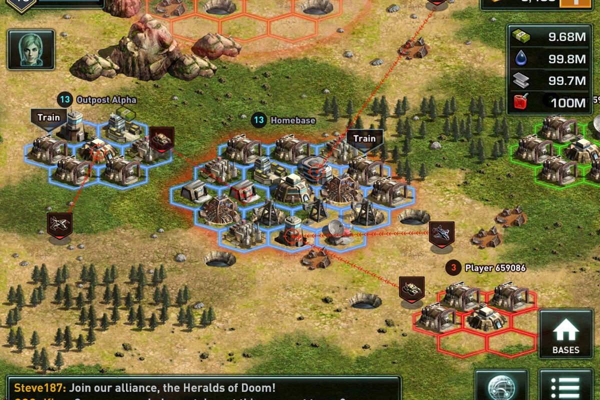 Gree launches hardcore strategy MMO War of Nations on iOS ...