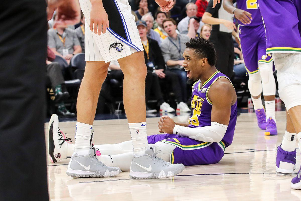 NBA: Orlando Magic at Utah Jazz