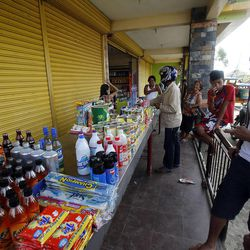 A grocery store opens in Tacloban, Friday, Nov. 22, 2013.