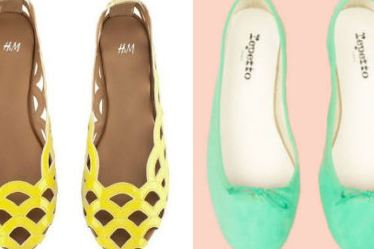 Check out these H&M and Repetto shoes plus more, via Racked NY