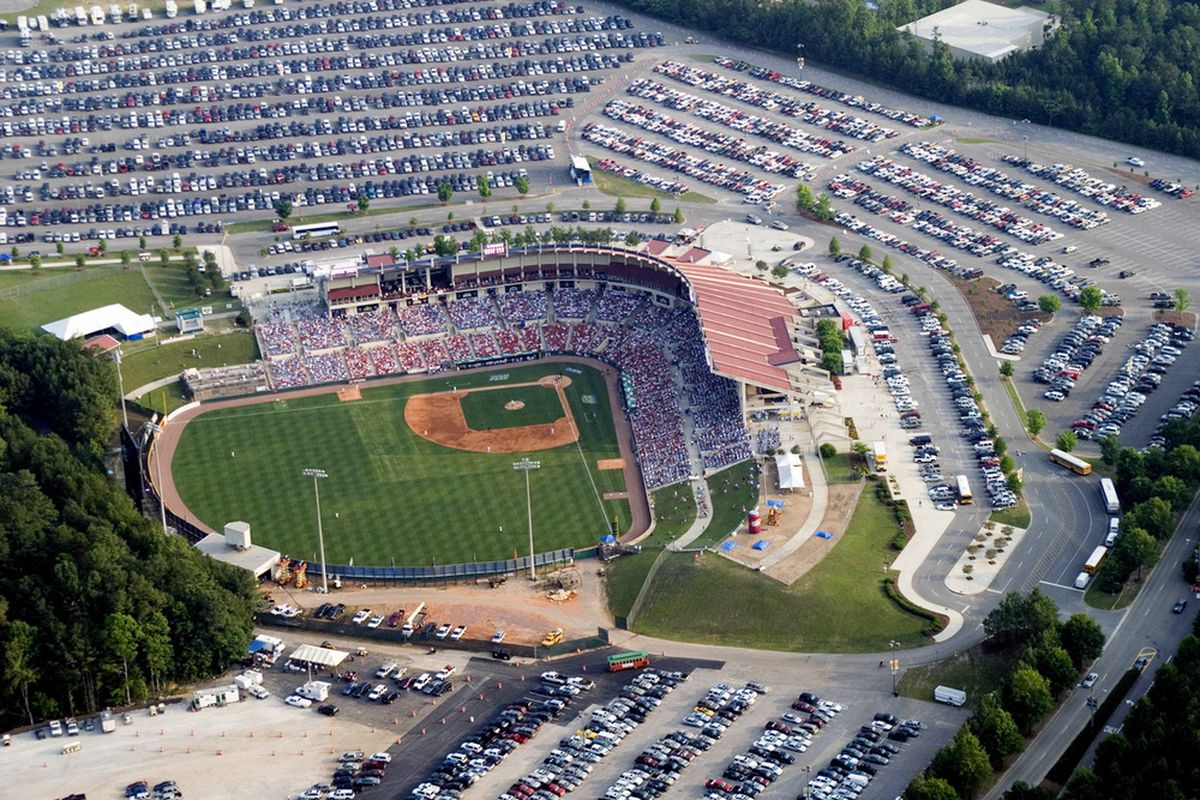 Eyes on the prize - Hoover, AL, home of the SEC baseball Tournament.