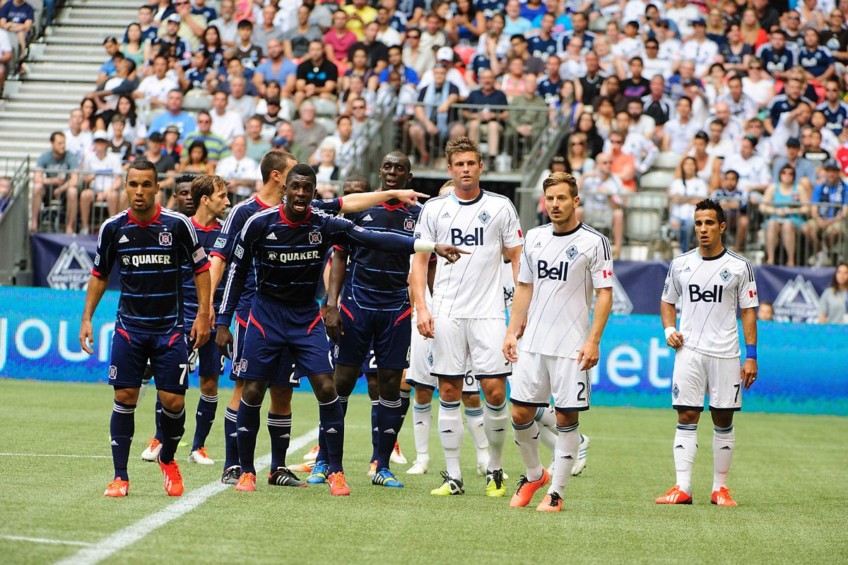 The Whitecaps will face the Chicago Fire in their lone match up this season