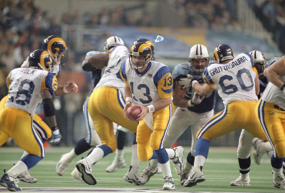 Super Bowl XXXIV - St. Louis Rams v Tennesee Titans