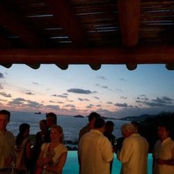 """Thursday's VIP reception in a private Zihuatanejo home. <span class=""""credit""""> [Photo: <a href=""""http://whiteonricecouple.com/"""">Todd Porter and Diane Cu</a>]</span>"""