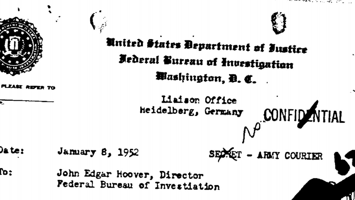 The FBI kept tabs on many wildly famous writers, actors and athletes, records show.