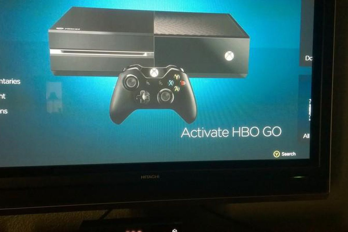 activate hbo go xbox one