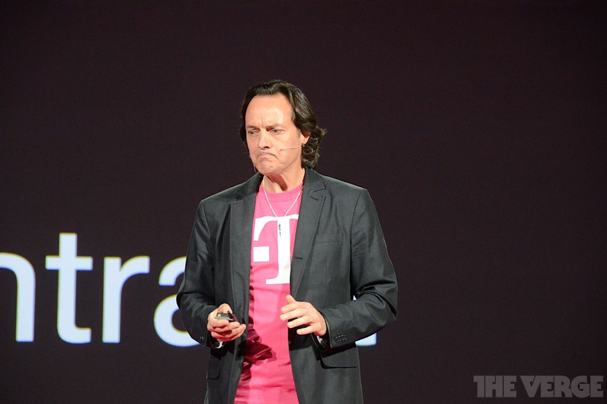 T Mobile Ceo John Legere Kicked Out Of At T S Ces Party The Verge