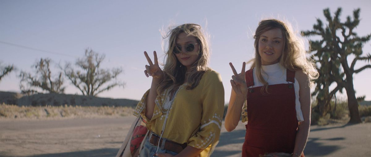 Elizabeth Olsen and Aubrey Plaza appear inIngrid Goes Westby Matt Spicer, an official selection of the U.S. Dramatic Competition at the 2017 Sundance Film Festival.