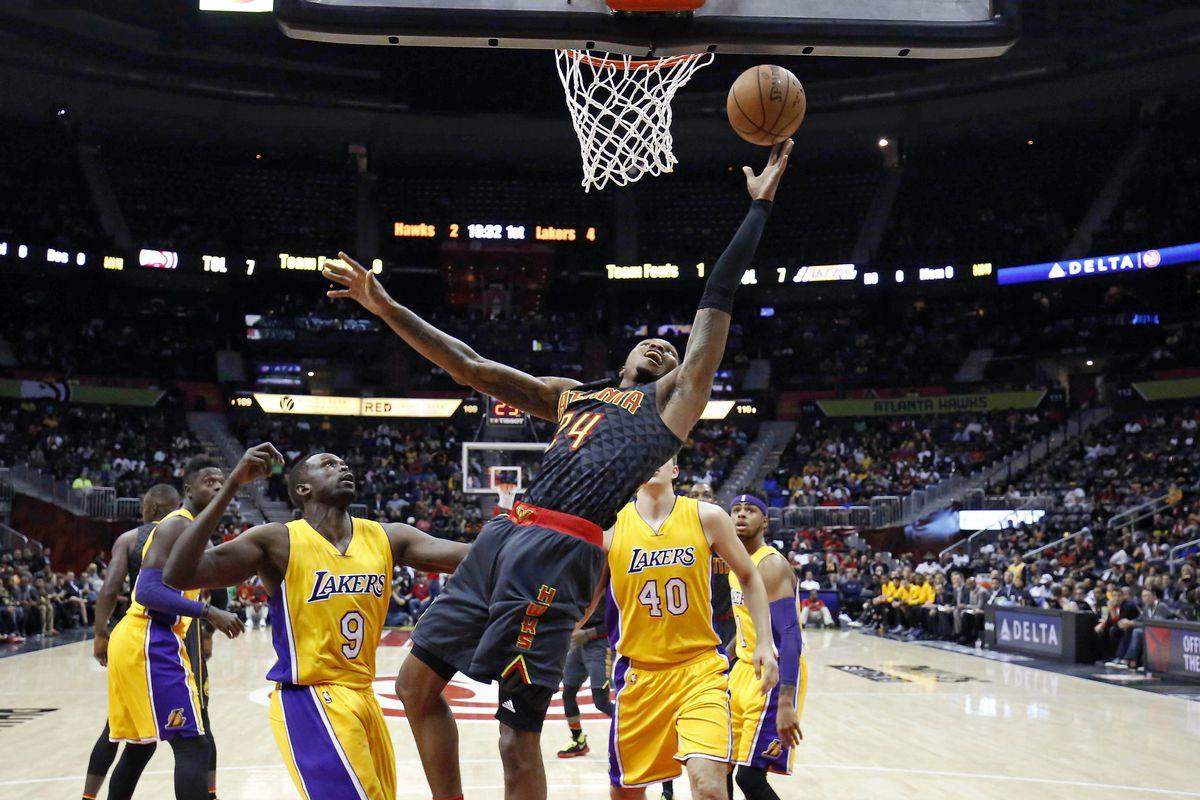 NBA: Los Angeles Lakers at Atlanta Hawks