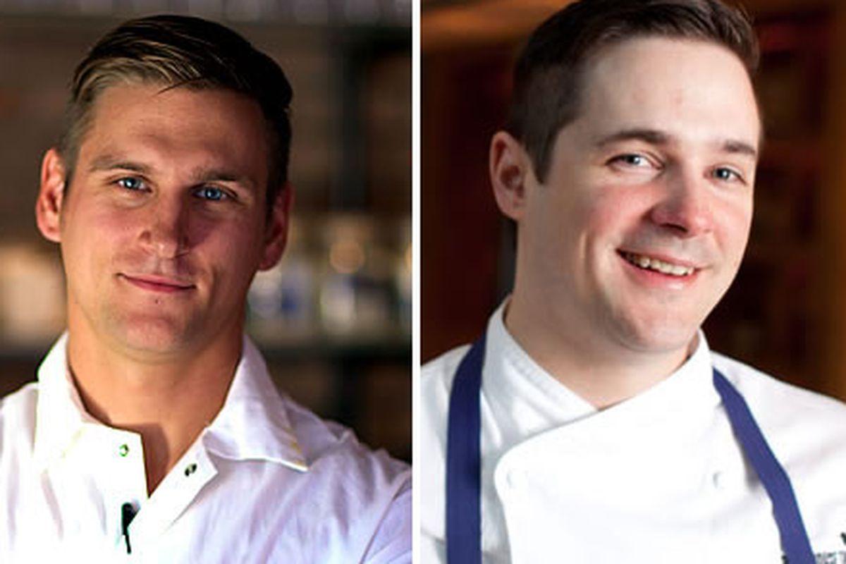 Jason Cichonski and Nick Elmi are on Top Chef 11