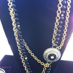 """""""Here I mixed and matched chains and brought that great circular dome shape in."""""""