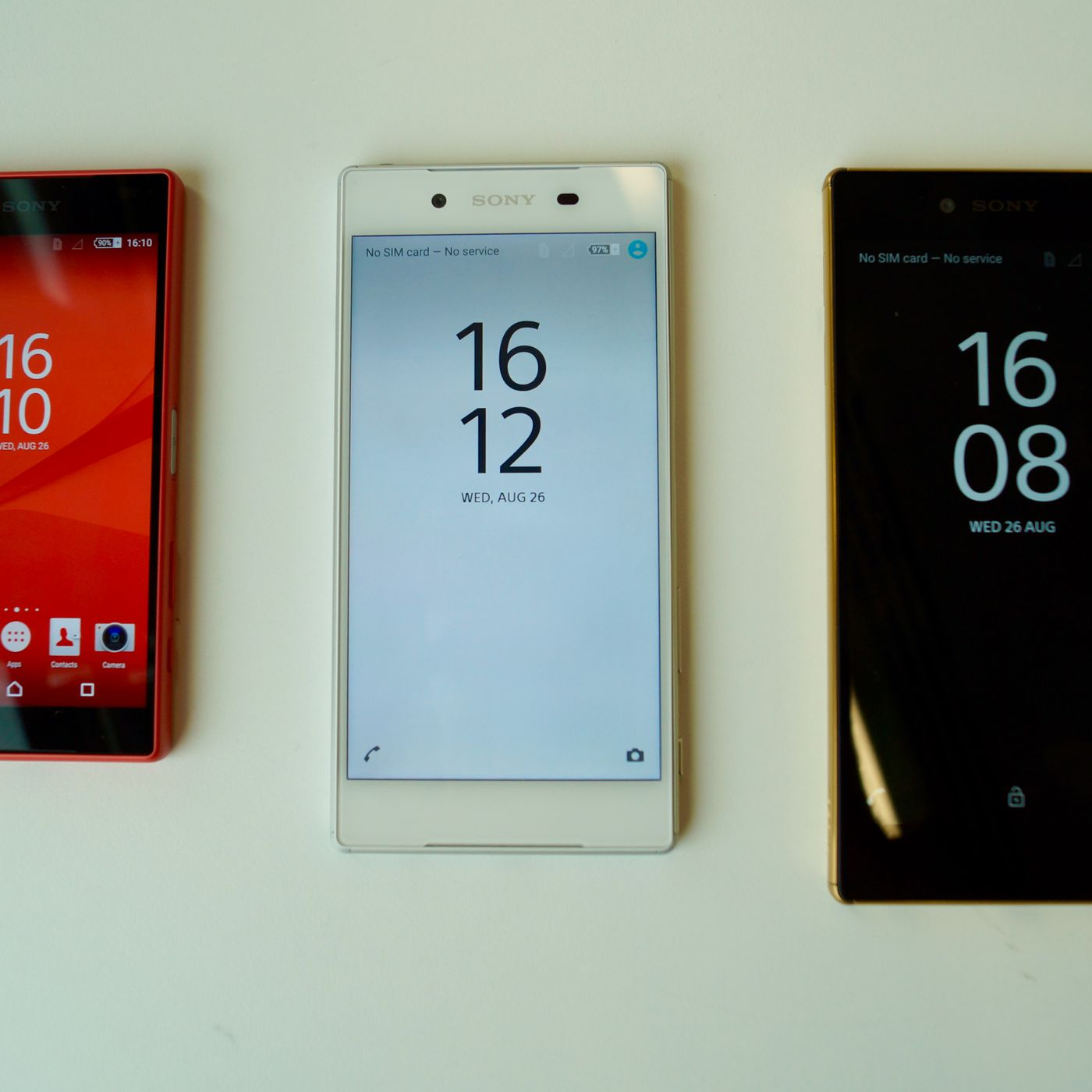 Sony launches Xperia Z5 family with fingerprint sensor and