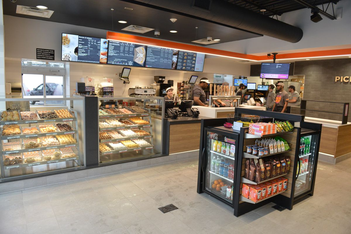 Dunkin Donuts New Store Serves Nitro Cold Brew Eater