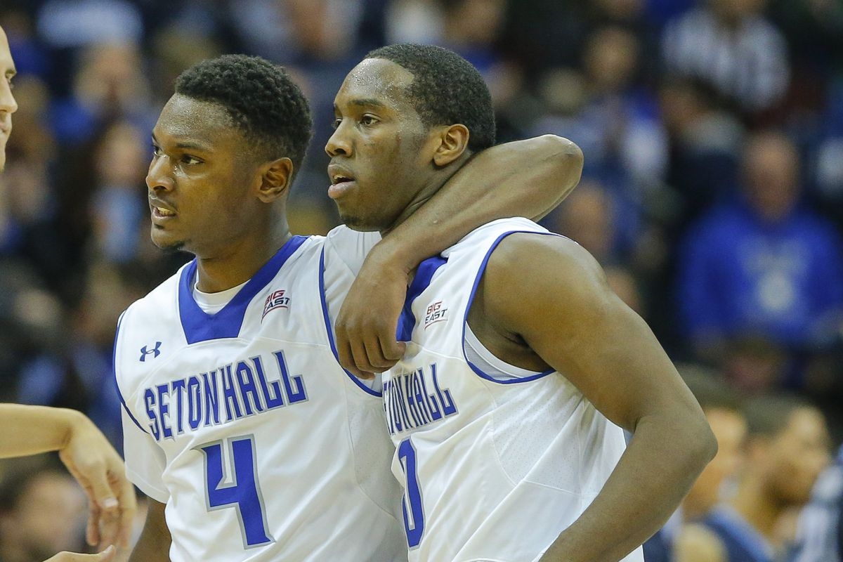 Gibbs (left) and Carrington have been huge in Isaiah Whitehead's absence.