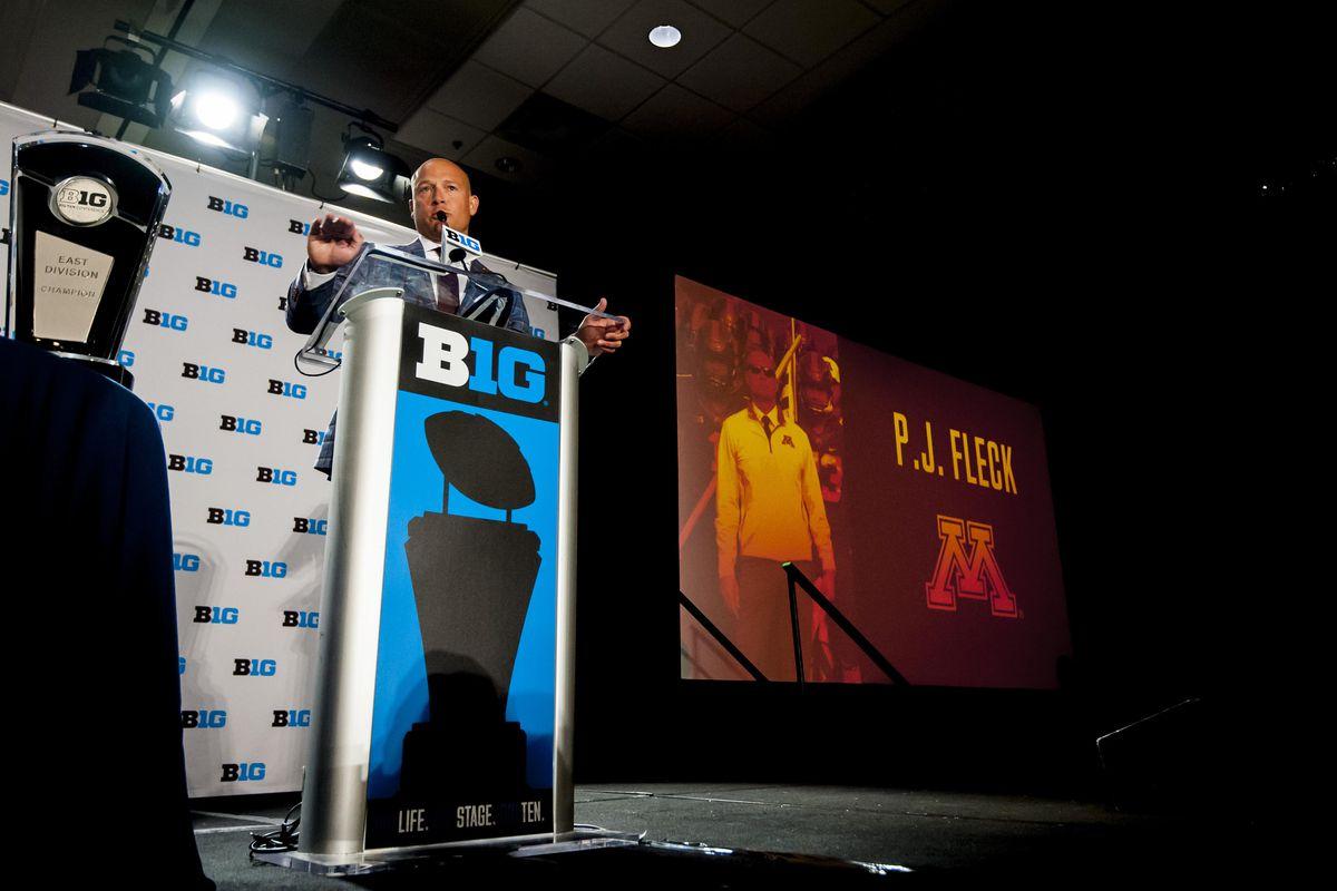 NCAA Football: Big Ten Football Media Day