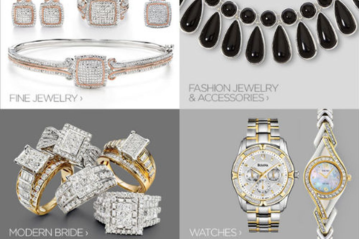 JCP's site is offering serious sales on jewelry in advance of Valentine's Day.