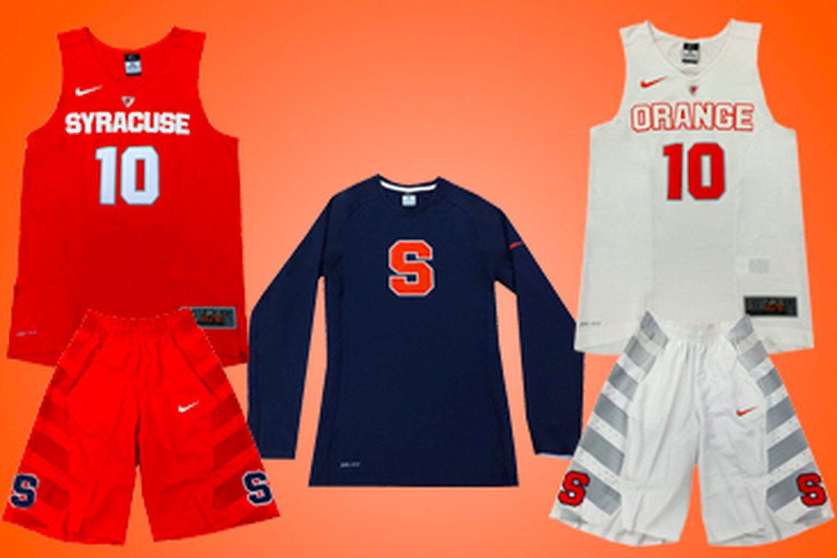 newest 9aa53 f9f47 New Syracuse Basketball Nike Hyper Elite Uniforms Coming ...