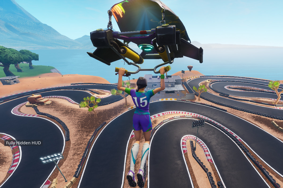 Fortnite Dance Club Racetrack Locations For Overtime Challenge Polygon