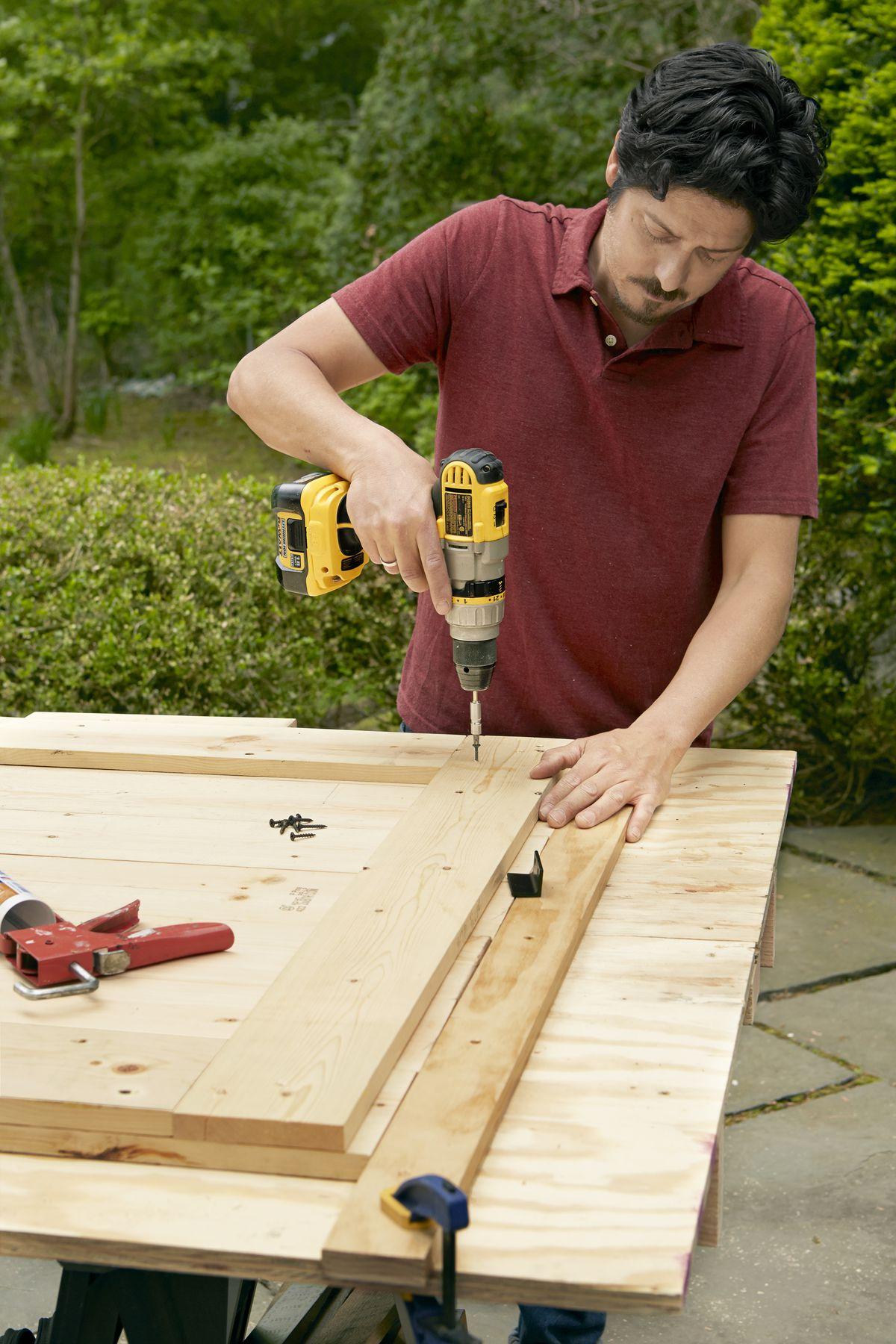 Adding Filler Strips to Sliding Barn Door