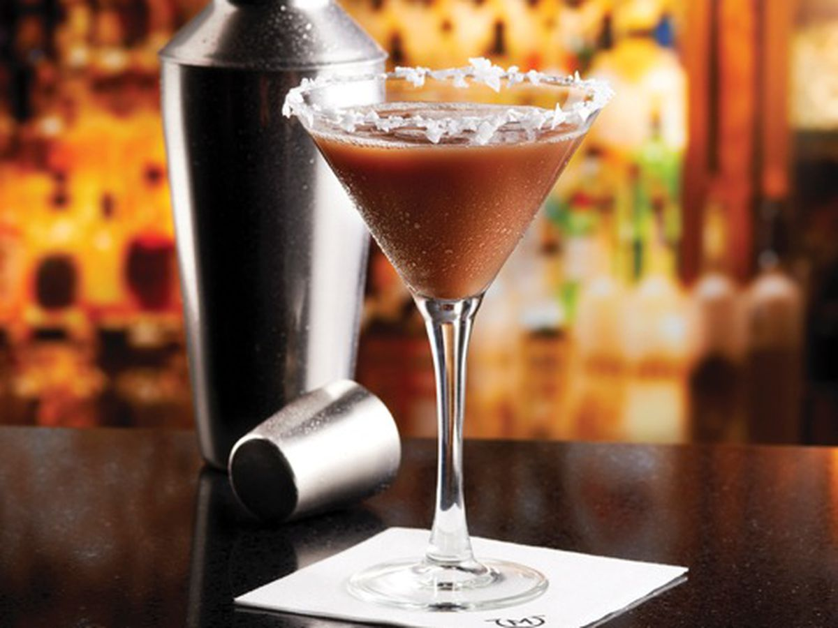 Salted Caramel Martini from Mastro's