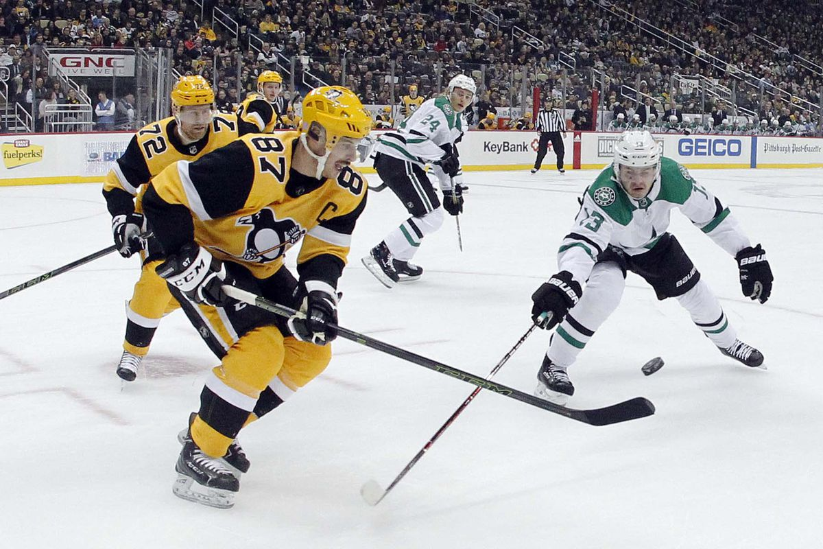 NHL: Dallas Stars at Pittsburgh Penguins