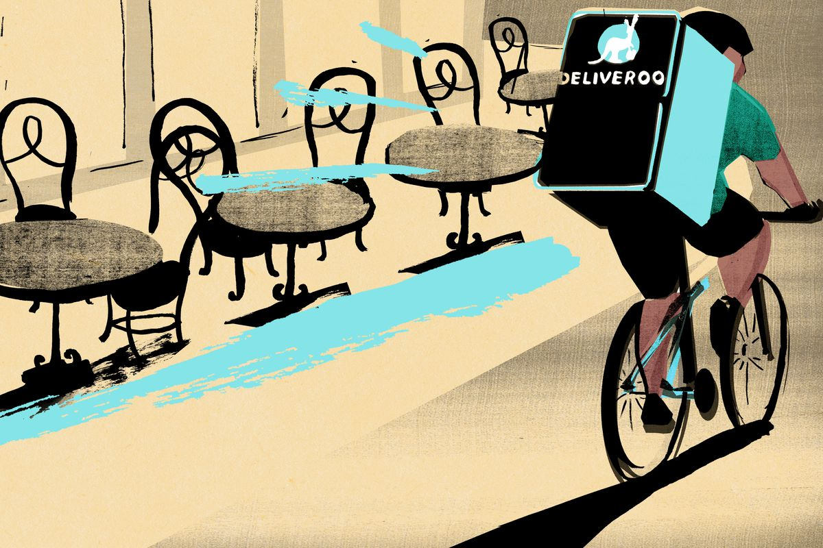 Food delivery platform Deliveroo has encouraged the UK government to reconsider restaurant business rates