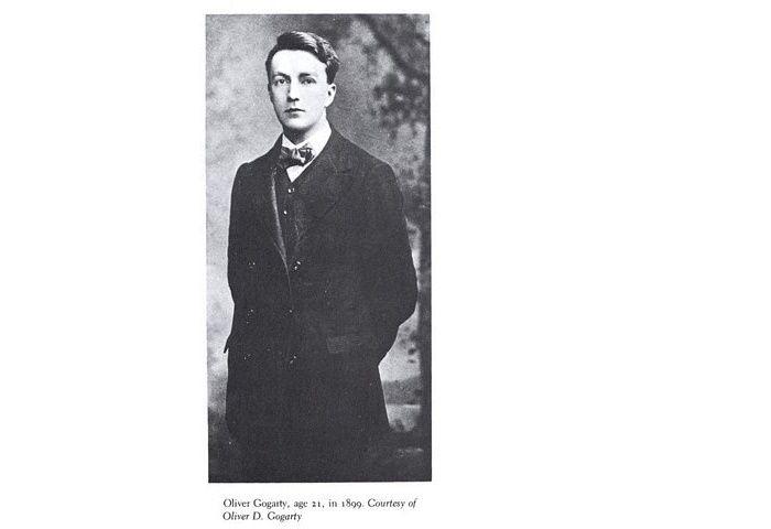 Oliver St John Gogarty: athlete, poet, doctor, Senator, forever remembered as the real-life Buck Mulligan