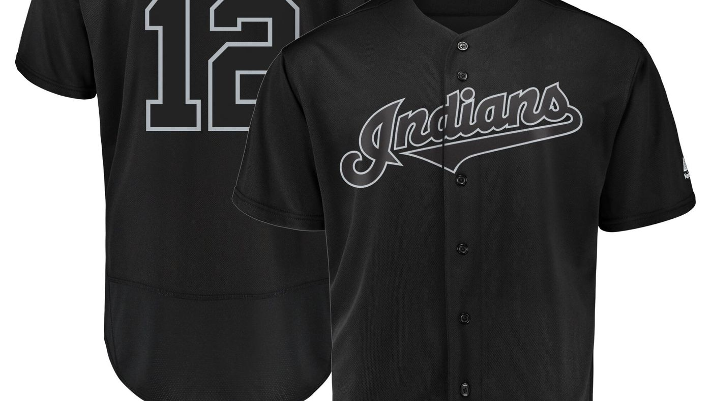 meet 237a8 49ee4 Indians unveil Players' Weekend names, monochromatic jerseys ...