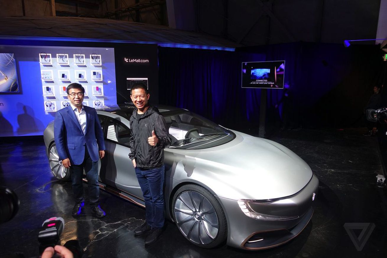 Faraday Future admits its employees designed parts of LeEco's electric car