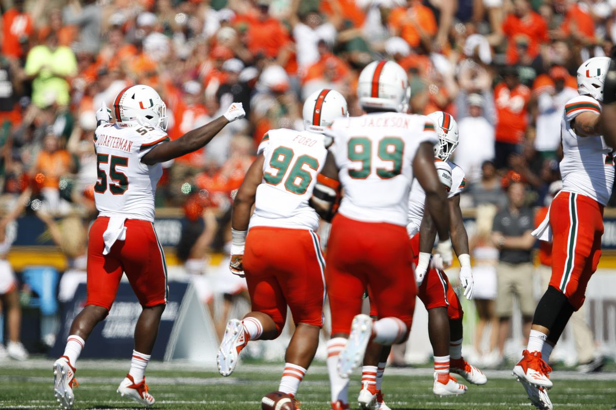 NCAA Football: Miami at Toledo
