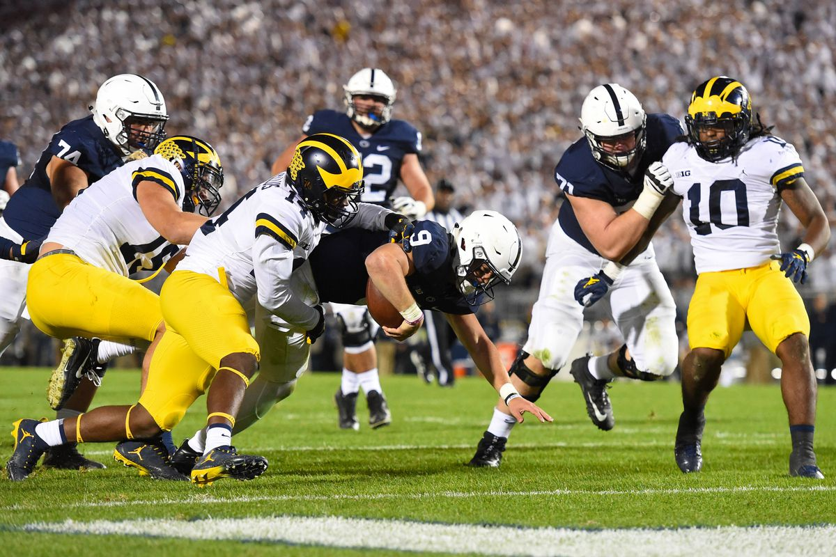 Just the Stats: No  14 Penn State Football at No  5 Michigan