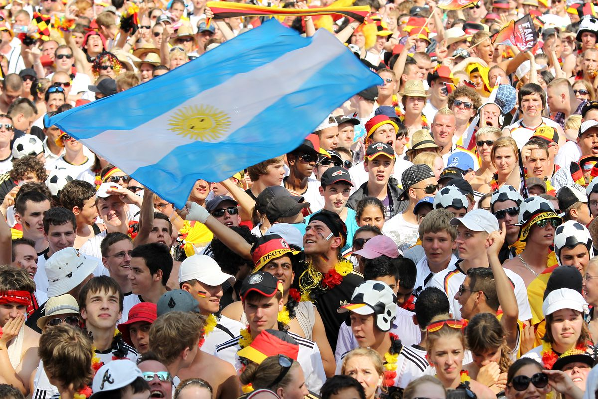 Public Viewing: Germany v Argentina - 2010 FIFA World Cup