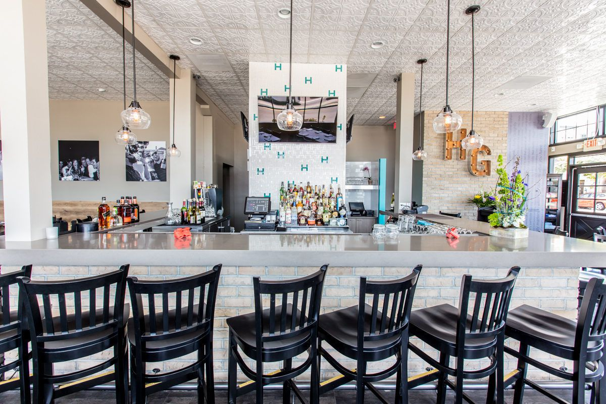 Harley Gray Kitchen Bar Surfaces In Gatherings Spot Eater San Diego
