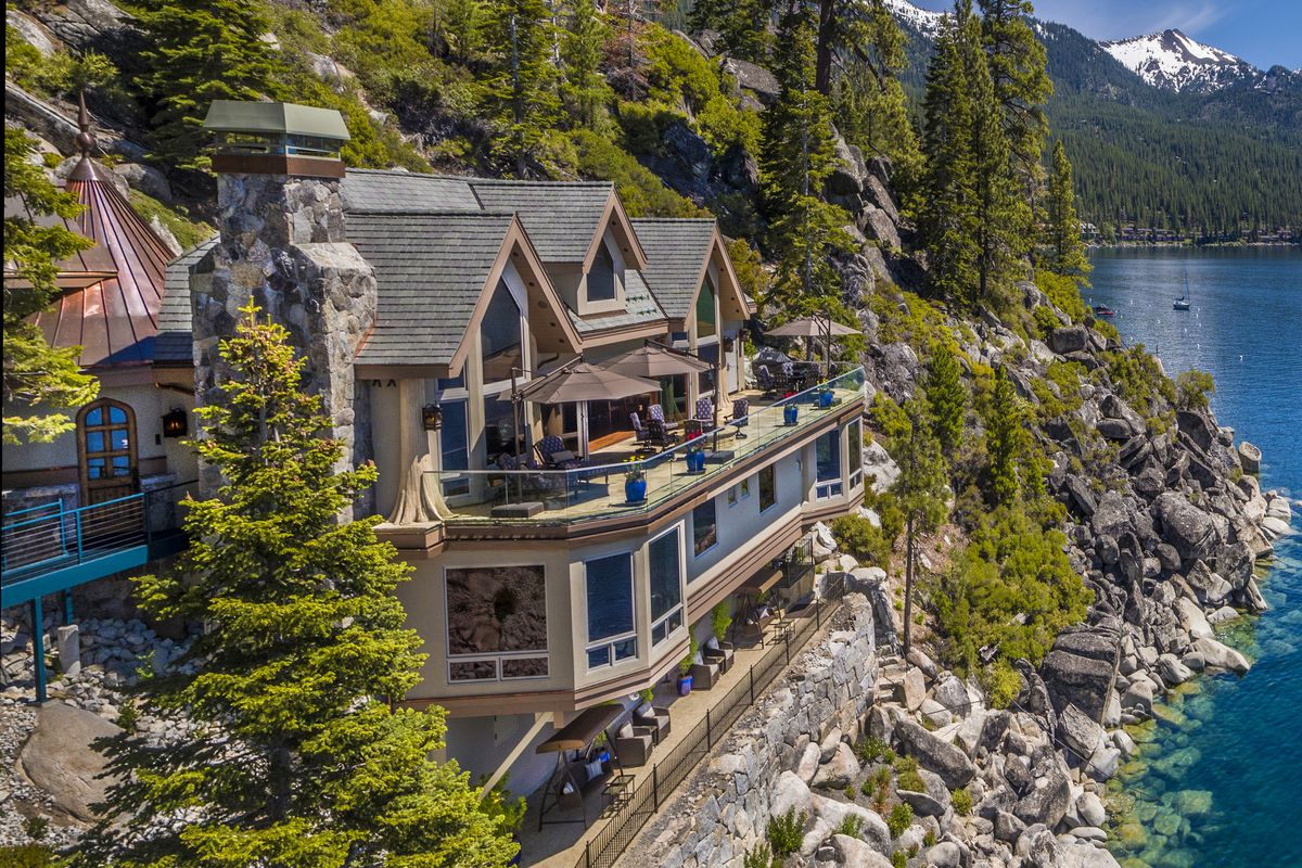 Lake Tahoe Home Seeks A Whopping 75 Million Curbed Sf