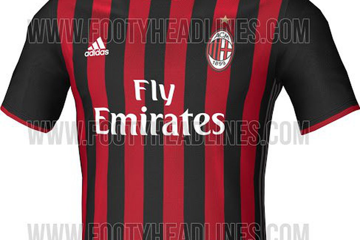 timeless design 6cdfd c293e 16/17 Milan Home Jersey Leaked - The AC Milan Offside