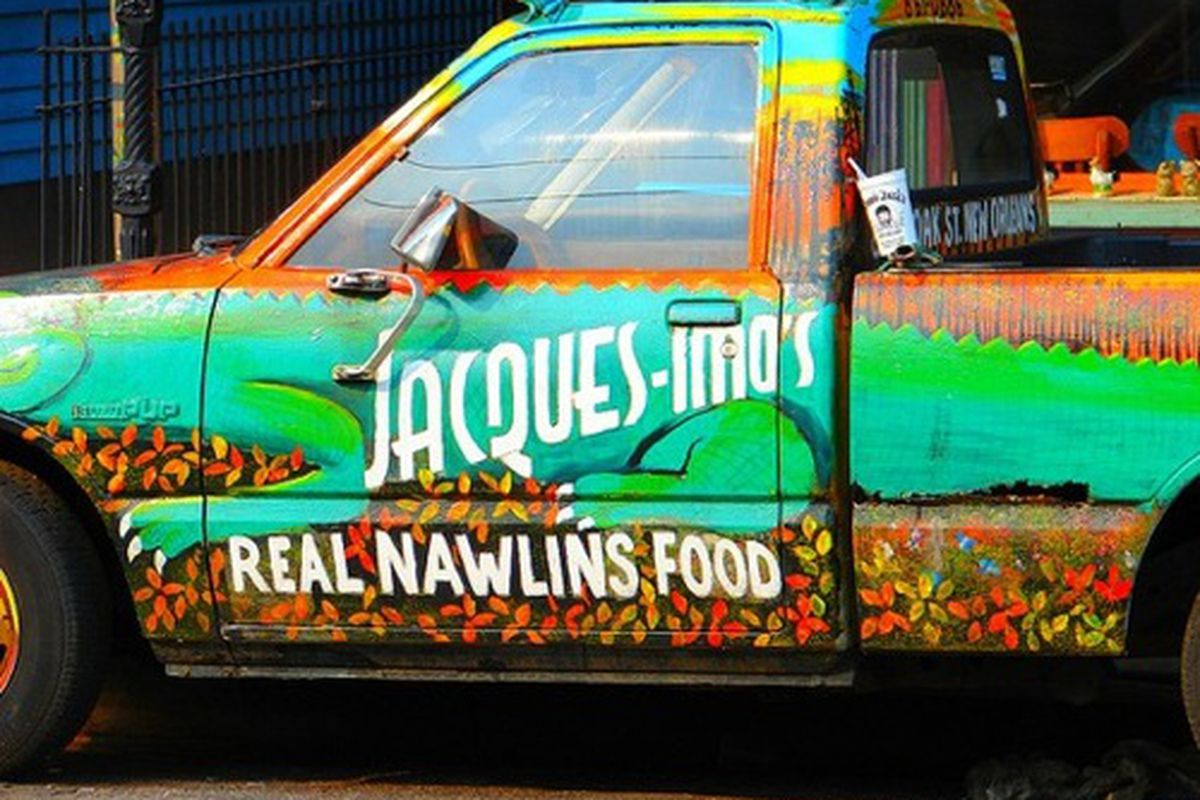 The truck at Jacques-Imo's