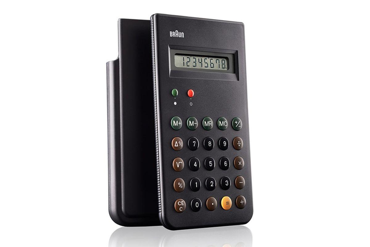 Dieter Rams iconic 1987 dieter rams designed braun calculator to be re