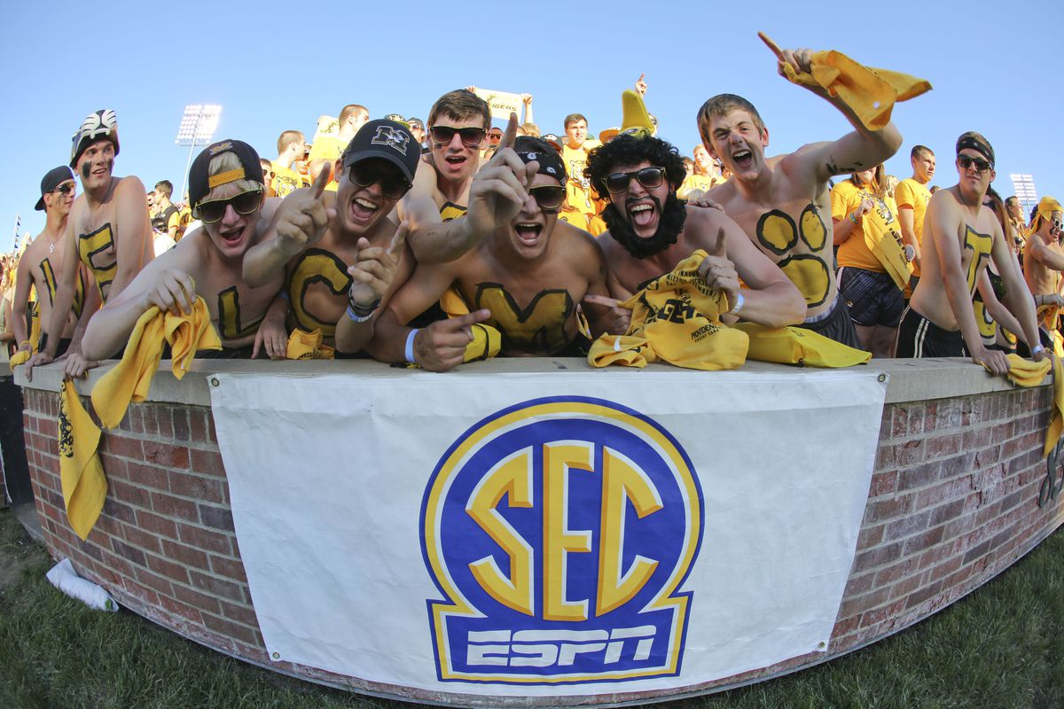 Missouri fans are finding themselves quite comfortable in their second year in the SEC.
