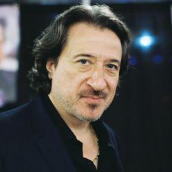 Federico Castelluccio, who played Furio Giunta on<em>The Sopranos</em>, poses at the exposition center