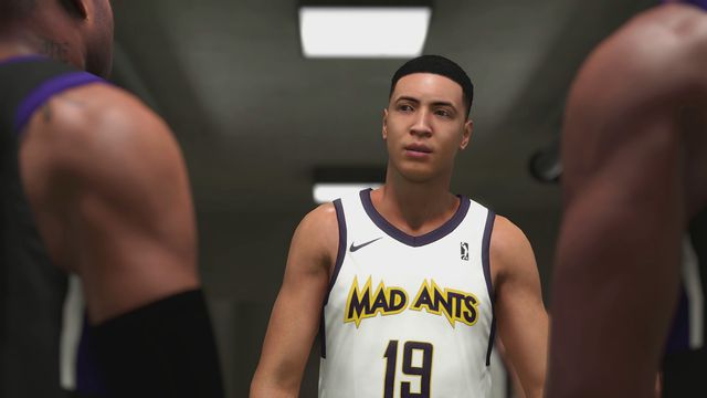 <em>NBA 2K19</em>'s MyCareer begins with a narrative journey through the NBA G League