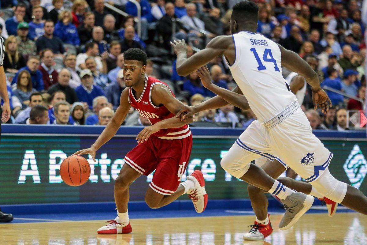 NCAA Basketball: Indiana at Seton Hall