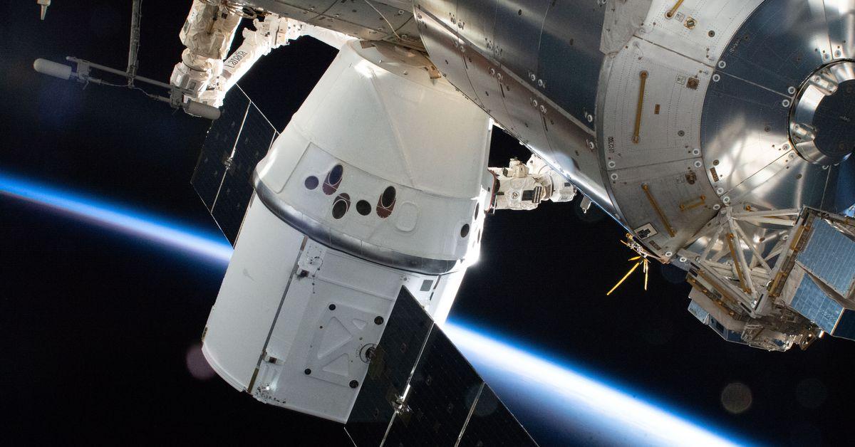 جرب الإرساء مع محطة الفضاء الدولية دون تدميرها 1