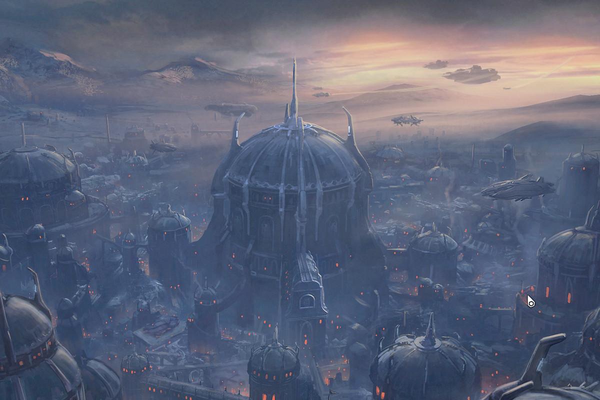 The Doom Hunter base in Doom Eternal