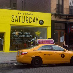 In case you wondered how Saturday yellow compares to taxi yellow.